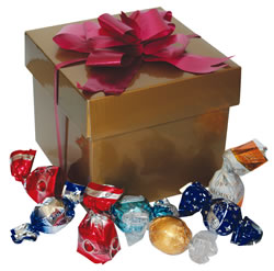 Gift Box Gold with Scatters