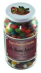 Pack Jelly Beans Glass Jar